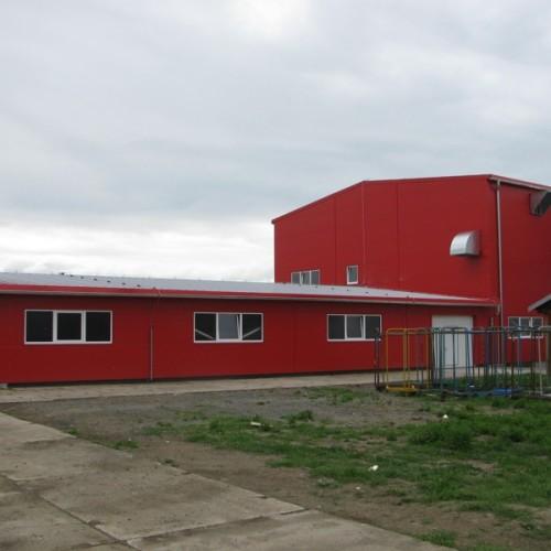 Přístavba haly – výzkumné a vývojové centrum AMF Reece ČR