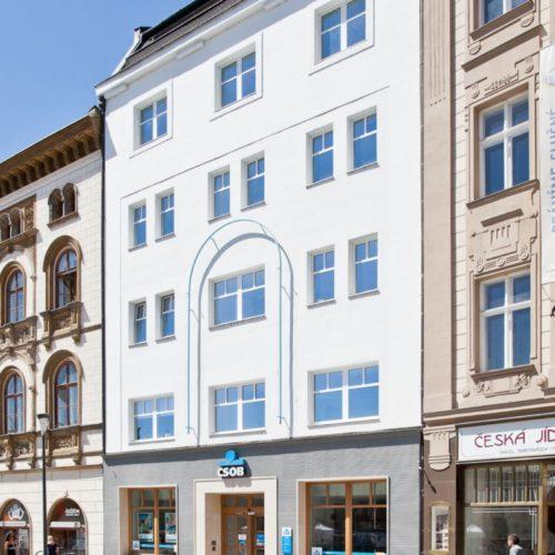 Redesign ČSOB pobočky v Olomouci, Horní náměstí